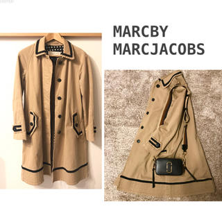 MARC BY MARC JACOBS - MARCBY MARCJACOBS スプリングコート パイピングトレンチコート