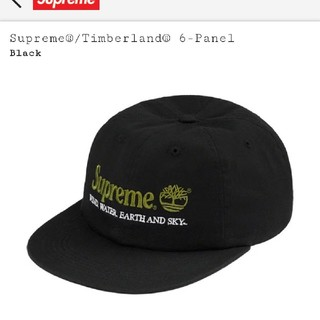 Supreme - supreme timberland 6-panel ブラック