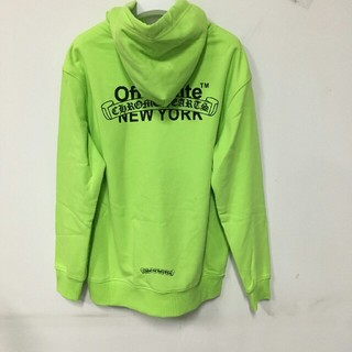 Chrome Hearts - OFF-WHITE Chrome Hearts New York パーカ