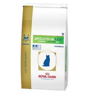 -4kgロイヤルカナン 療法食 猫 PHコントロール1フィッシュテイスト ドライ(ペットフード)