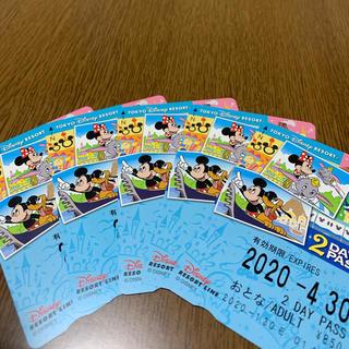 ディズニー(Disney)のディズニーリゾートライン2dayパス(鉄道乗車券)