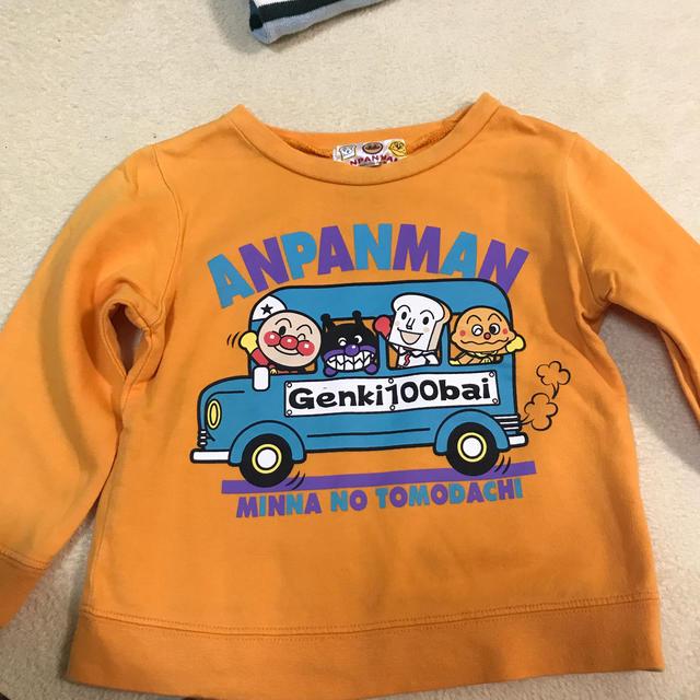 アンパンマン(アンパンマン)のアンパンマン90センチ キッズ/ベビー/マタニティのキッズ服男の子用(90cm~)(Tシャツ/カットソー)の商品写真
