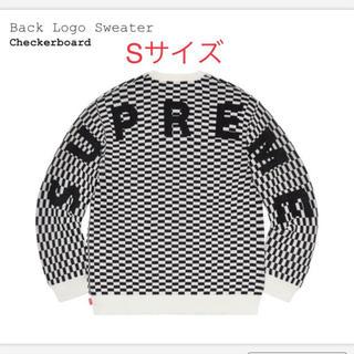 Supreme - 最安値 Supreme Back Logo Sweater Sサイズ