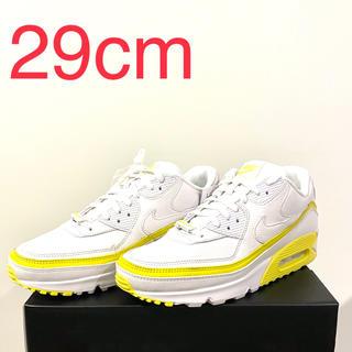 ナイキ(NIKE)のNike Air Max 90 Undefeated white yellow(スニーカー)