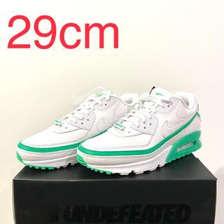 ナイキ(NIKE)のNike Air Max 90 Undefeated white Green(スニーカー)