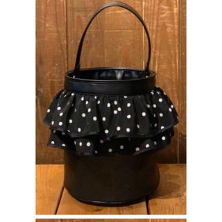 セツコサジテールpicnic黒フリルSetsuko sagittaireバッグ