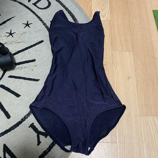 (KMGW-44)女児 紺色競泳スクール水着 140センチ