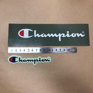 チャンピオン(Champion)のChampion ステッカー ノベルティ(その他)