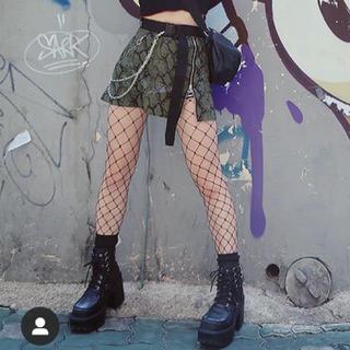 オープニングセレモニー(OPENING CEREMONY)のSKOOT❤︎パイソン柄スカート(ミニスカート)