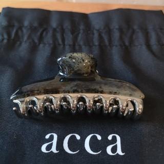 acca - 新品【acca】クリップ中
