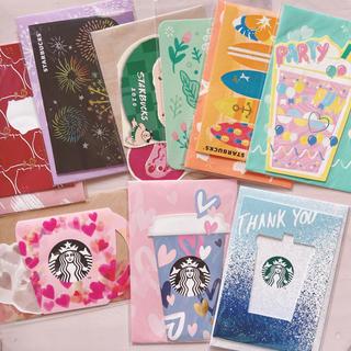 スターバックスコーヒー(Starbucks Coffee)のスタバ ビバレッジカード 9枚 (カード/レター/ラッピング)