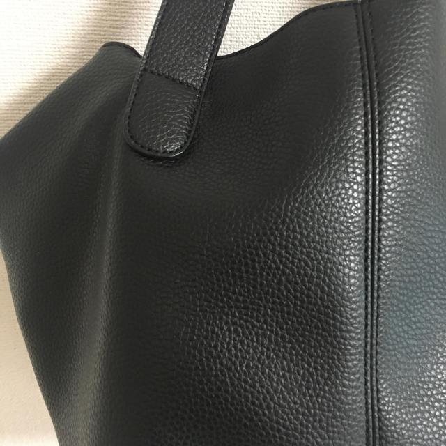 しまむら(シマムラ)のゆーりん様専用☆ショルダーバッグ 2WAY 黒 しまむら レディースのバッグ(ショルダーバッグ)の商品写真