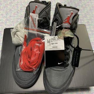 ナイキ(NIKE)の26.5cm Nike Air Jordan5 off white(スニーカー)