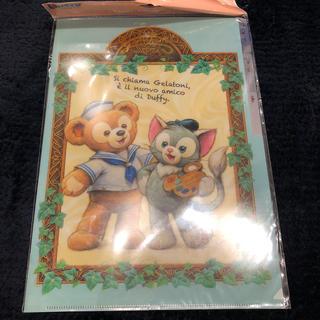 ダッフィー - ダッフィ&シェリーメイ クリアファイル