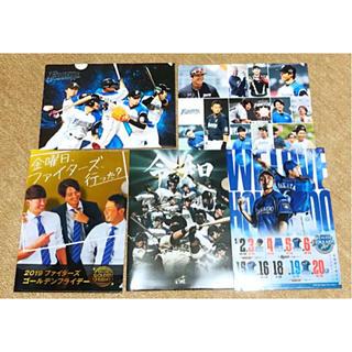 ホッカイドウニホンハムファイターズ(北海道日本ハムファイターズ)の♡ファンにおすすめ♡ファイターズ クリアファイル 5点セット(スポーツ選手)