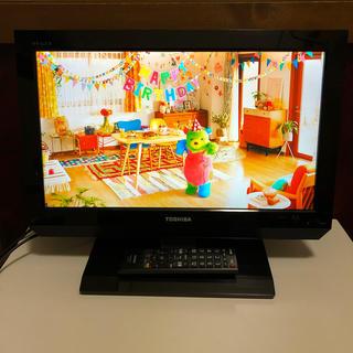 東芝 - 19インチ液晶カラーテレビ 東芝