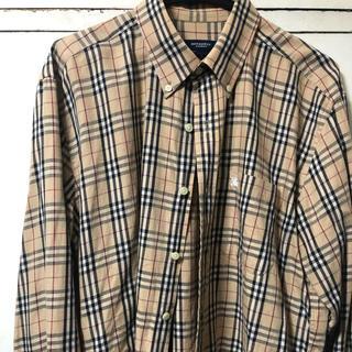 BURBERRY - バーバリーノバチェックシャツ