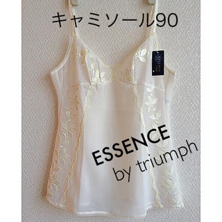 Triumph - 【新品タグ付】ESSENCE bytriumphキャミソール(定価¥11,000