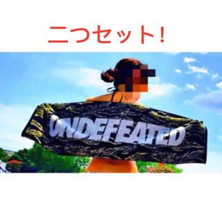 Undefeated タオル