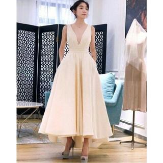 ウエディングドレス 花嫁パーティードレス カラードレス白 二次会 花嫁