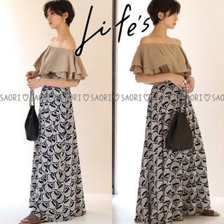 TODAYFUL - TODAYFUL【未使用に近い】Pattern Georgette PT