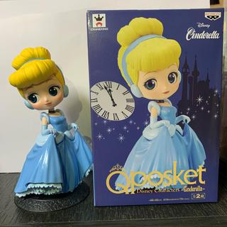 Disney - Qposket シンデレラ フィギュア<購入前要コメント>