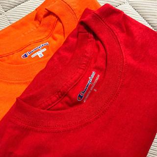 チャンピオン(Champion)のchampion新品☆Tシャツ2枚セット(Tシャツ/カットソー(半袖/袖なし))