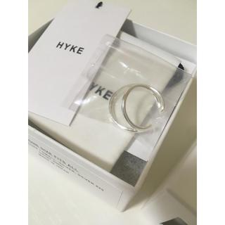 HYKE - 新品未使用★HYKE  ダブルイヤーカフ  シルバー