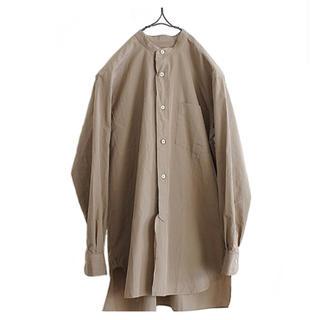 COMOLI - comoli コモリ バンドカラー バンドカラーシャツ コモリシャツ シャツ