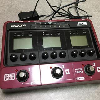 ズーム(Zoom)のzoom B3 ベースマルチ(ベースエフェクター)
