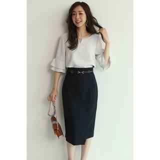 JUSGLITTY - 新品✨ ジャスグリッティー 巻き風ベルト付きタイトスカート