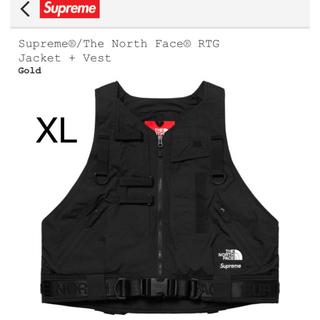 シュプリーム(Supreme)のSupreme  RTG Jacket ベストのみ シュプリーム ノースフェイス(マウンテンパーカー)