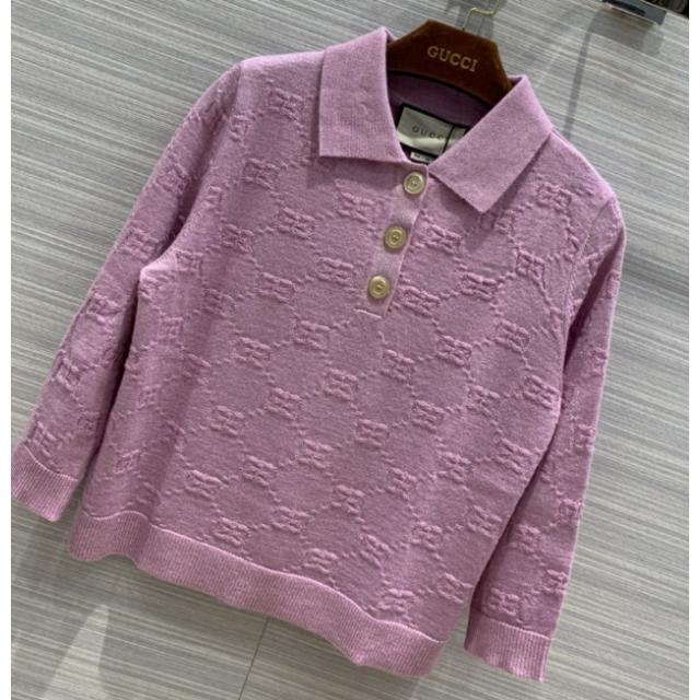 Gucci - GUCCI●2020CR●GG クロップド ポロシャツの通販