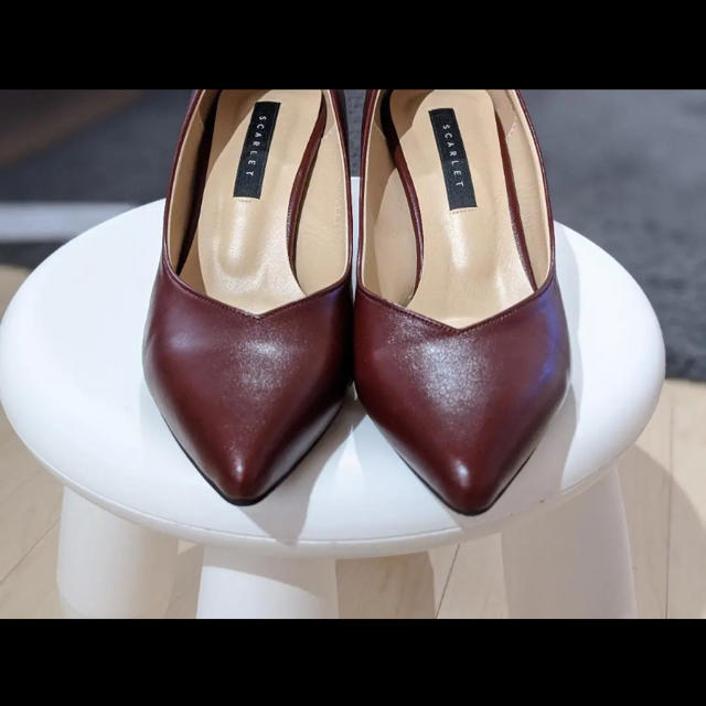 dholic(ディーホリック)のSAPPUN ♡ チャンキーヒールパンプス 23.5センチ レディースの靴/シューズ(ハイヒール/パンプス)の商品写真