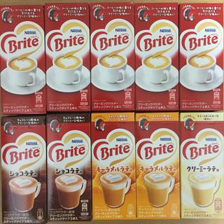 ネスレ(Nestle)のNestle Brite 10箱セット(コーヒー)
