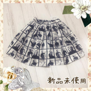 eimy istoire - jiji ♡ 新品未使用 マリリン モンロー モノクロスカート