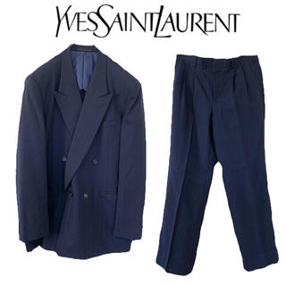 Saint Laurent - YVESSAINTLAURENT イブサンローラン ダブル スーツ セットアップ