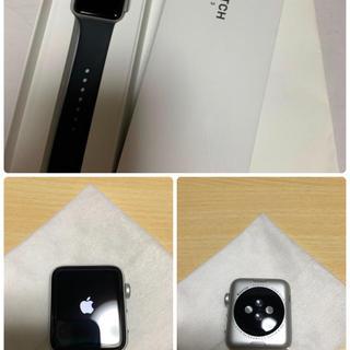 アップルウォッチ(Apple Watch)のApple Watch3 GPSモデル 42㍉(腕時計(デジタル))