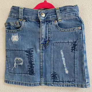 デニムスカート80センチ(スカート)