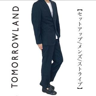 トゥモローランド(TOMORROWLAND)のTOMORROWLAND トゥモローランド セットアップ スーツ カシミア(セットアップ)