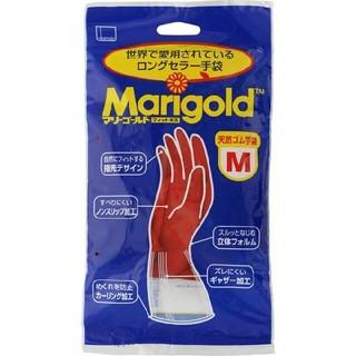 Mサイズ マリーゴールド ゴム手袋 フィットネス×1袋(収納/キッチン雑貨)