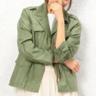 グリーンレーベルリラクシング(green label relaxing)のミリタリージャケット(ミリタリージャケット)