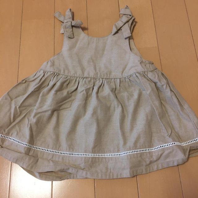 petit main(プティマイン)のロンパース ワンピースセット キッズ/ベビー/マタニティのベビー服(~85cm)(ロンパース)の商品写真