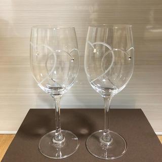 WEDGWOOD - WEDGWOOD  ワイングラス ハート