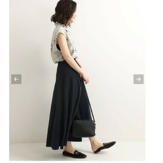 IENA - 新品未使用♡イエナ♡コットンストレッチ フレアスカート 36