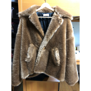 Jieda - NEON SIGN 19AW W Jewelz Fur Jacket