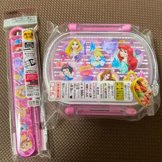 Disney - ディズニー プリンセス お弁当箱 お箸 セット