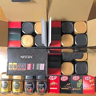 Nestle - ネスカフェ ギフトセット(ゴールドブレンド・エクセラ・キットカット)4セット