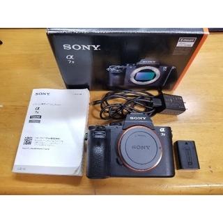 SONY - sony α7ii フルサイズミラーレス一眼レフカメラ ボディ ILCE-7M2