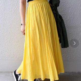 カージュ(Khaju)の美品 カラーマキシスカート(ロングスカート)